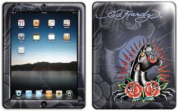 "Аксессуар для Apple Ed Hardy iPad Skin ""Royal Blue"