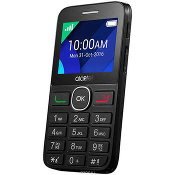 Смартфон ALCATEL ONE TOUCH 2008G BLACK/PURE WHITE