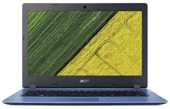 "Ноутбук Acer Aspire A114-31-C1WQ Celeron N3350/4Gb/eMMC32Gb/Intel HD Graphics 500/14""/HD /Windows 10 Single Language/blue NX.GQ9ER.001"