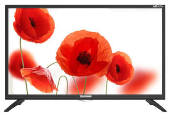 "Телевизор TELEFUNKEN 31.5"" TF-LED32S74T2 черный/HD READY/50Hz/DVB-T/DVB-T2/DVB-C/USB"