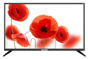 "Телевизор TELEFUNKEN LED 31.5"" TF-LED32S88T2 черный/HD READY/50Hz/DVB-T/DVB-T2/DVB-C/USB"