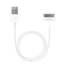 Аксессуар для Apple DEPPA Кабель USB-30-pin для Apple, 1.2м, белый, 72101